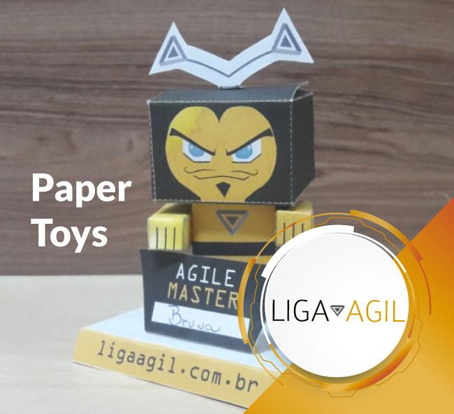 Paper Toy Abelhas Ágeis
